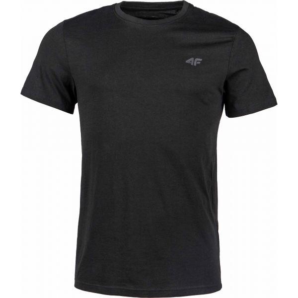 4F MEN´S T-SHIRT černá XL - Pánské tričko