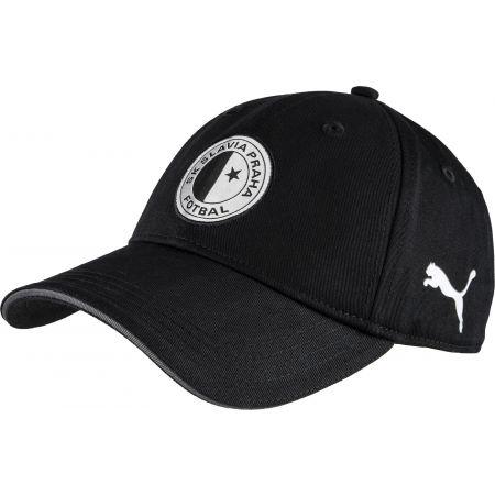 Puma TEM CAP BLK SLAVIA PRAGUE - Шапка с козирка