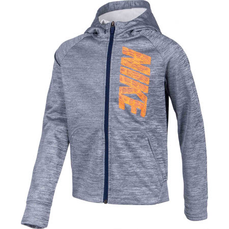 Boys' hoodie - Nike THERMA GFX FZ HOODIE B - 2