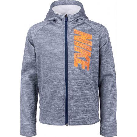 Горнище за момчета - Nike THERMA GFX FZ HOODIE B - 1
