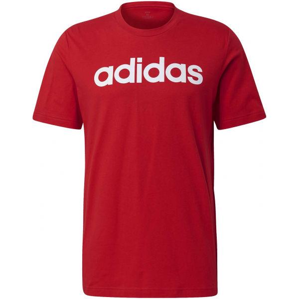 adidas E LIN TEE  L - Pánské tričko