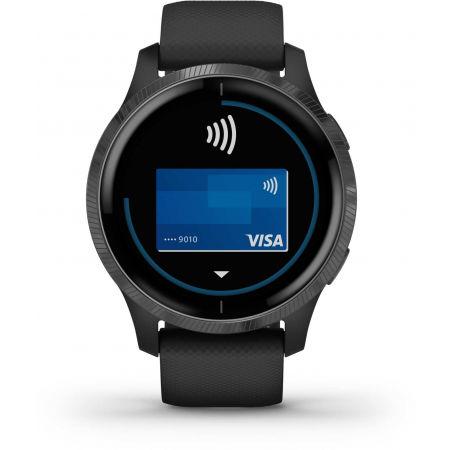 Спортен часовник с GPS и пулсометър - Garmin VENU - 8