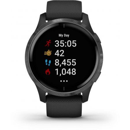 Спортен часовник с GPS и пулсометър - Garmin VENU - 9