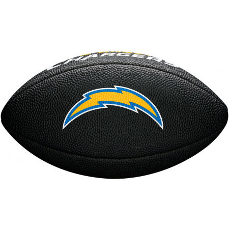 Mini míč na americký fotbal - Wilson MINI NFL TEAM SOFT TOUCH FB BL - 3