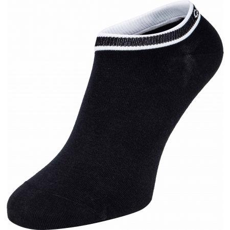 Női zokni - Calvin Klein WOMEN LINER 2P LOGO CUFF STRIPE SPENCER - 2