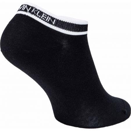 Női zokni - Calvin Klein WOMEN LINER 2P LOGO CUFF STRIPE SPENCER - 3