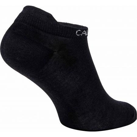 Damensocken - Calvin Klein WOMEN LINER 2P LEOPARD BACK TAB - 3