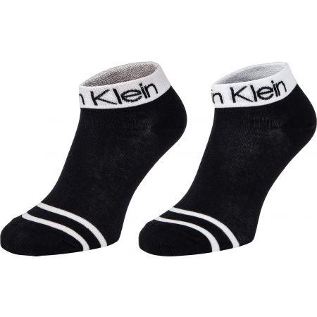 Calvin Klein WOMEN SHORT SOCK 2P LEGWEAR LOGO ZOEY
