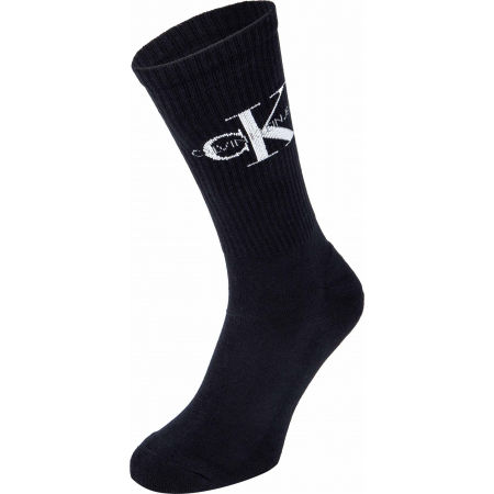 Calvin Klein MEN CREW 1P CK JEANS RIB DESMOND - Șosete bărbați