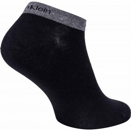 Мъжки чорапи - Calvin Klein MEN LINER 2P ALL OVER CK LOGO EDUARDO - 5
