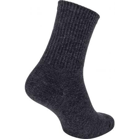 Dámske ponožky - Calvin Klein WOMEN SHORT SOCK 1P JEANS LOGO BOWERY - 2
