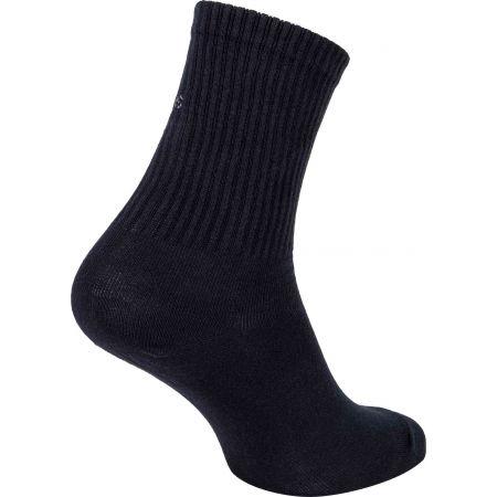 Dámské ponožky - Calvin Klein WOMEN SHORT SOCK 1P JEANS LOGO BOWERY - 2
