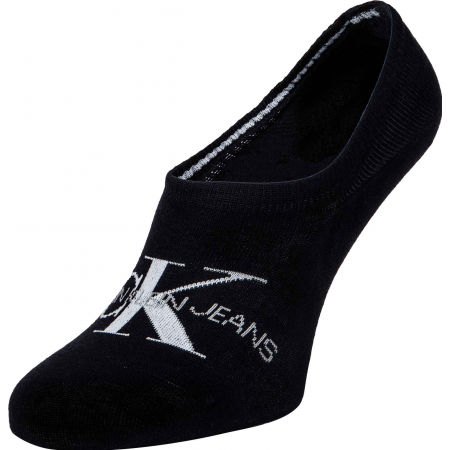 Calvin Klein WOMEN LINER 1P JEANS LOGO BROOKLYN - Dámské ponožky