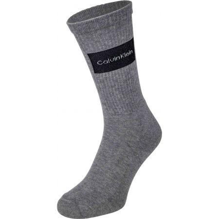 Pánské ponožky - Calvin Klein MEN CREW 3P TRAVEL BAG MARTIN - 4