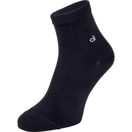 Дамски чорапи - Calvin Klein WOMEN ORGANIC COTTON SHORT CREW 2P GRETCHEN - 2