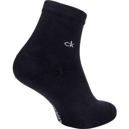 Дамски чорапи - Calvin Klein WOMEN ORGANIC COTTON SHORT CREW 2P GRETCHEN - 3