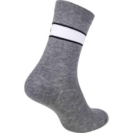 Dámské ponožky - Calvin Klein WOMEN CREW 4P JEANS LOGO GIFTBOX BRONX - 5
