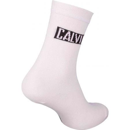 Dámské ponožky - Calvin Klein WOMEN CREW 4P JEANS LOGO GIFTBOX BRONX - 7