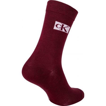 Dámské ponožky - Calvin Klein WOMEN CREW 4P JEANS LOGO GIFTBOX BRONX - 9
