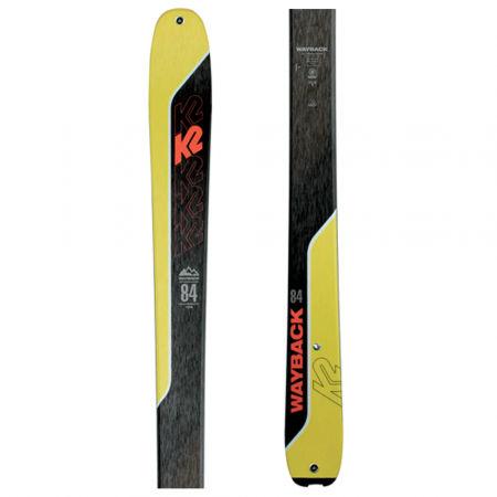 K2 WAYBACK 84 - Pánské skialpové lyže