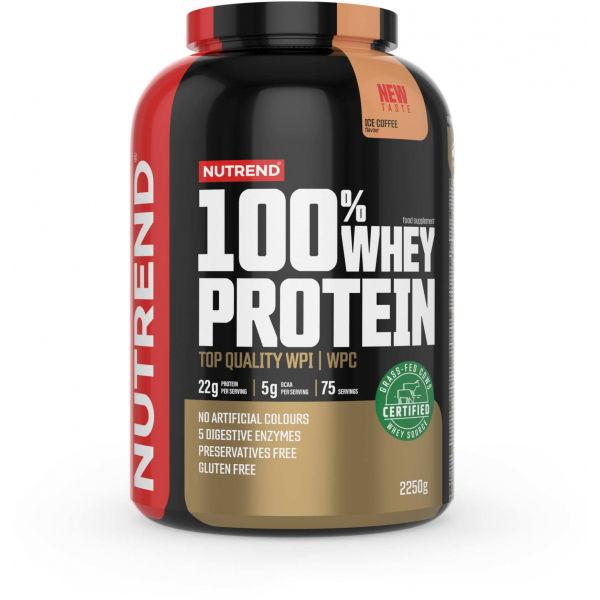 Nutrend 100% WHEY PROTEIN 2250 g ĽADOVÁ KÁVA - Proteín