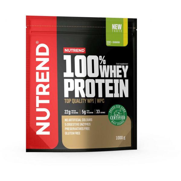 Nutrend 100% WHEY PROTEIN, 1000 g KIWI-BANÁN - Proteín