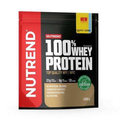 Nutrend 100% WHEY PROTEIN 1000 g ANANÁS-KOKOS - Proteín
