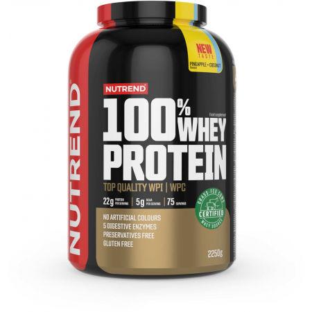 Nutrend 100% WHEY PROTEIN 2250 g ANANAS-KOKOS - Protein