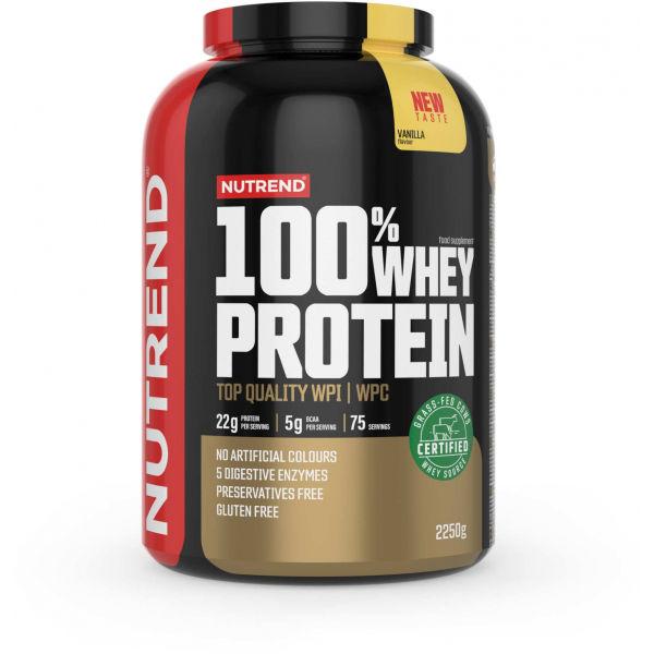 Nutrend 100% WHEY PROTEIN 2250 g VANILKA - Proteín