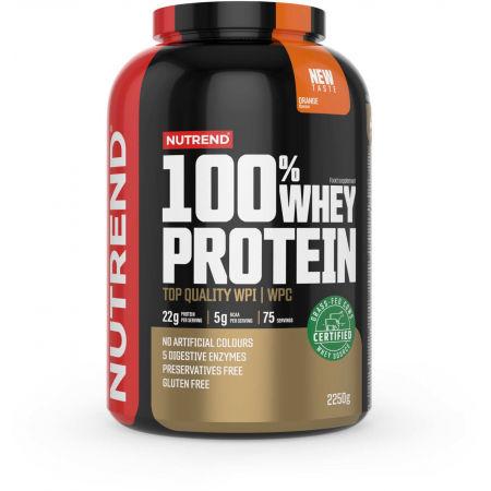 Nutrend 100% WHEY PROTEIN 2250 g POMARANČ - Proteín