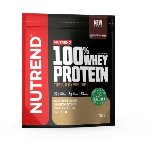 Nutrend 100% WHEY PROTEIN 1000 g ČOKOLÁDOVÉ BROWNIES - Proteín