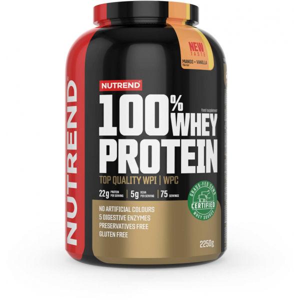 Nutrend 100% WHEY PROTEIN 2250 g MANGO-VANILKA - Proteín