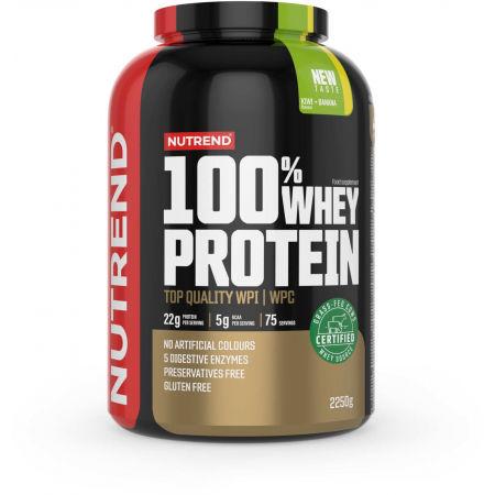 Nutrend 100% WHEY PROTEIN 2250 g KIWI-BANÁN - Proteín
