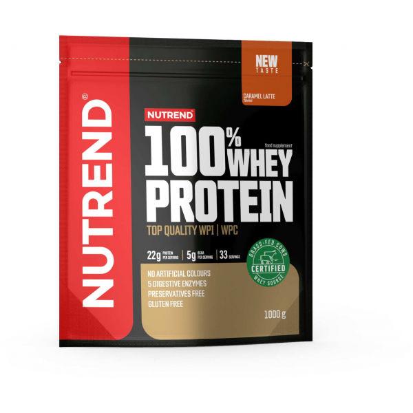 Nutrend 100% WHEY PROTEIN 1000 g KARAMELOVÉ LATTÉ - Proteín