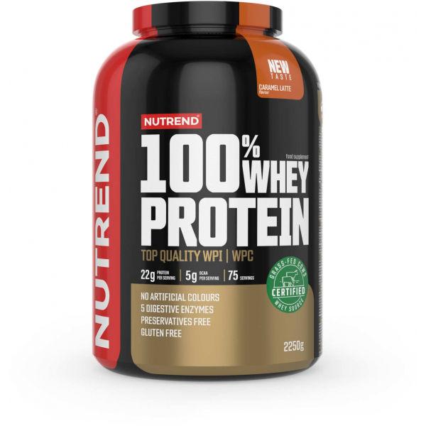 Nutrend 100% WHEY PROTEIN 2250 g KARAMELOVÉ LATTÉ - Proteín