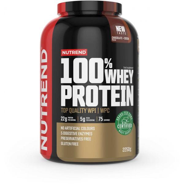 Nutrend 100% WHEY PROTEIN 2250 g ČOKOLÁDA-KAKAO - Proteín
