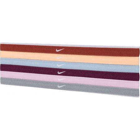 Nike SWOOSH SPORT HEADBANDS 6PK 2.0 - Zestaw opasek