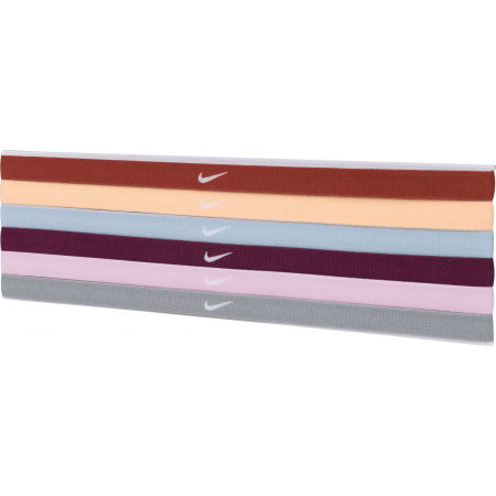 Nike SWOOSH SPORT HEADBANDS 6PK 2.0 - Set banderole
