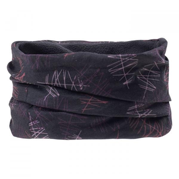 Hi-Tec RITTEM fekete UNI - Multifunkcionális kendő fleece béléssel