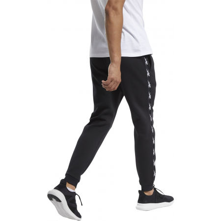 Men's training trousers - Reebok VECTOR TAPE JOGGER - 4