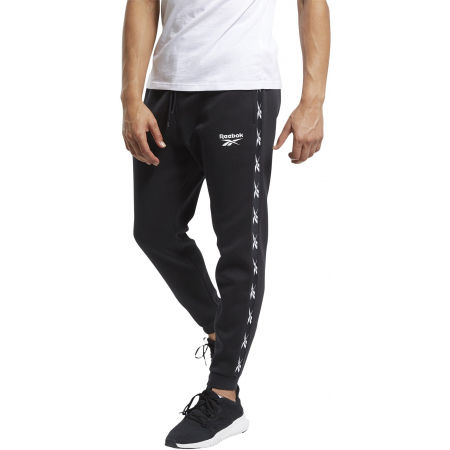 Men's training trousers - Reebok VECTOR TAPE JOGGER - 3