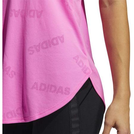 Women's sports tank top - adidas ADI JAQRD TANK - 7