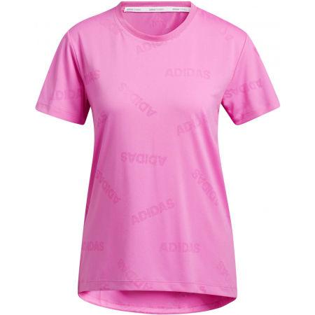 adidas AEROKNIT TEE PS - Tricou sport damă