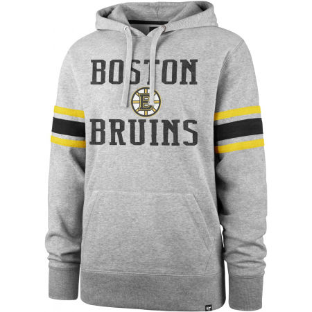 47 NHL BOSTON BRUINS DOUBLE BLOCK SLEEVE STRIPE HOOD