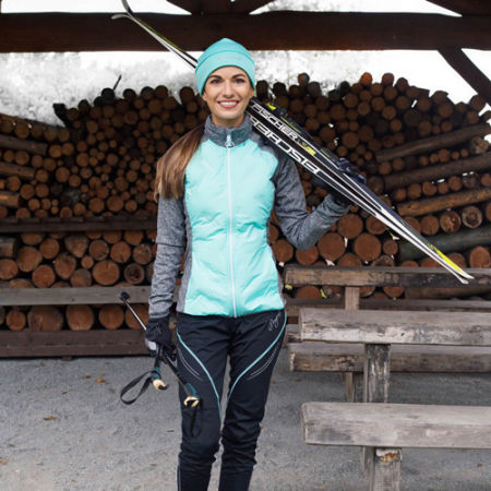 Women's winter stretch pants - Progress PENGUIN LADY - 4