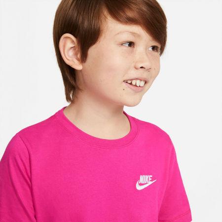 Тениска за момчета - Nike NSW TEE EMB FUTURA B - 5