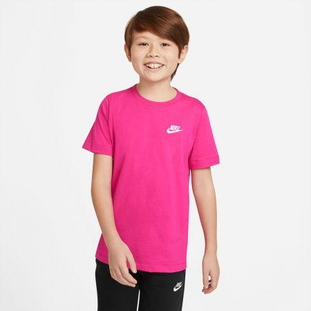 Тениска за момчета - Nike NSW TEE EMB FUTURA B - 3