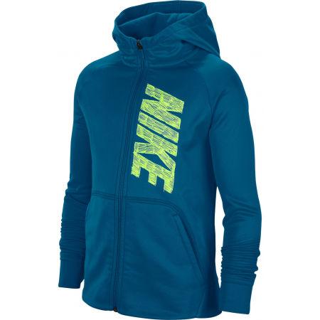 Nike THERMA GFX FZ HOODIE B - Горнище за момчета