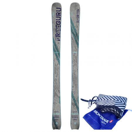 Sporten FREE GURU + STOUPACÍ PÁS FREE GURU - Skialpové lyže se stoupacím pásem