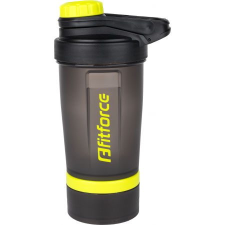 Fitforce SHAKER - Plastic bottle with a steel wire whisk